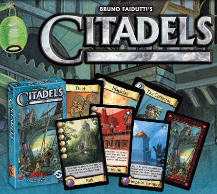 Citadels + Dark City Exp (Boardgame Review) G.O.L.T.