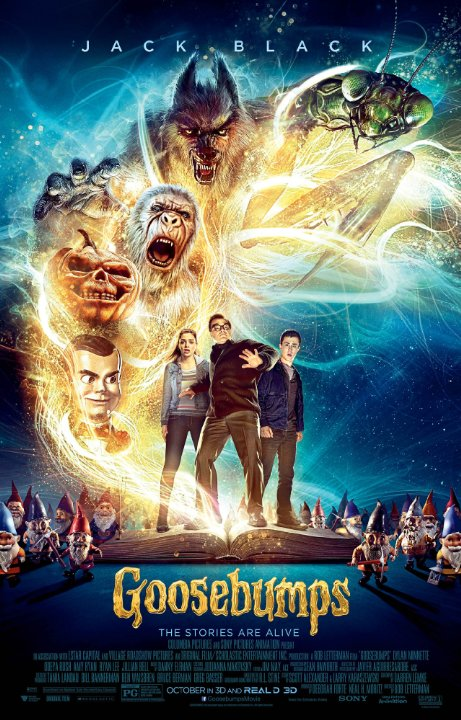 Goosebumps 2015 The Movie (Review and write up) R.L Stine starring Jack Black