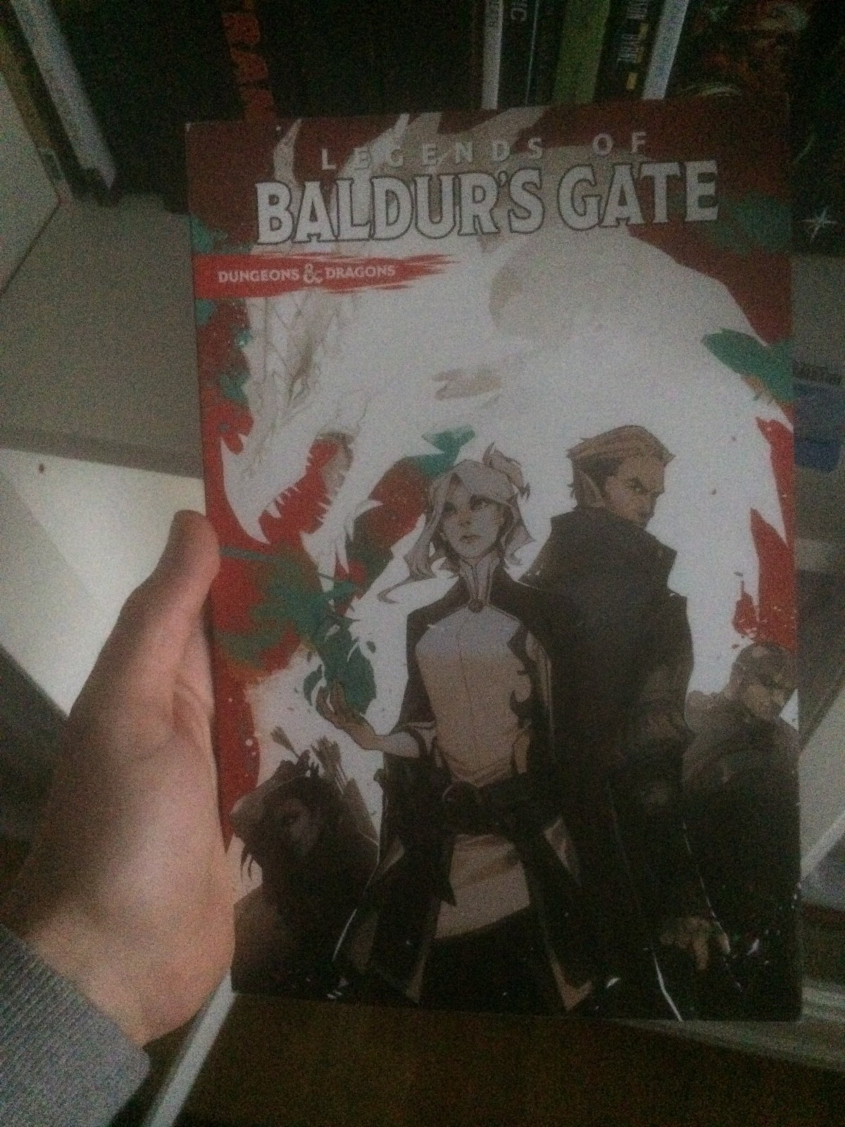 Dungeons & Dragons: Legends of Baldur's Gate (Comic Book Review)
