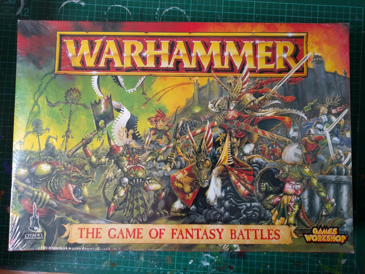 Fighting with little plastic men.  The story of Warhammer:Fantasy Battles