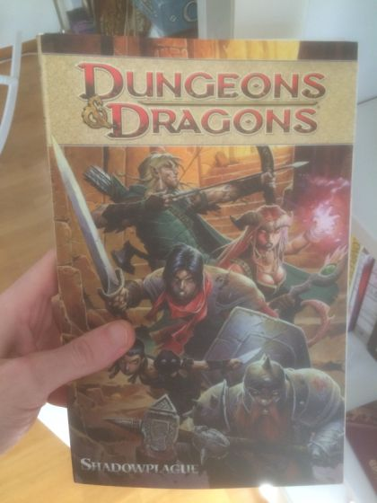 Dungeons & Dragons – Shadowplague (Comic Book Review)IDW