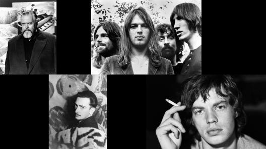 Collage Dali, Floyd, Welles, & Jagger