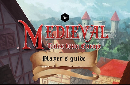 Medieval, Tales from Europe (new realistic setting for D&D 5E hitting Kickstarter) – Interview with Andrea Oneglia