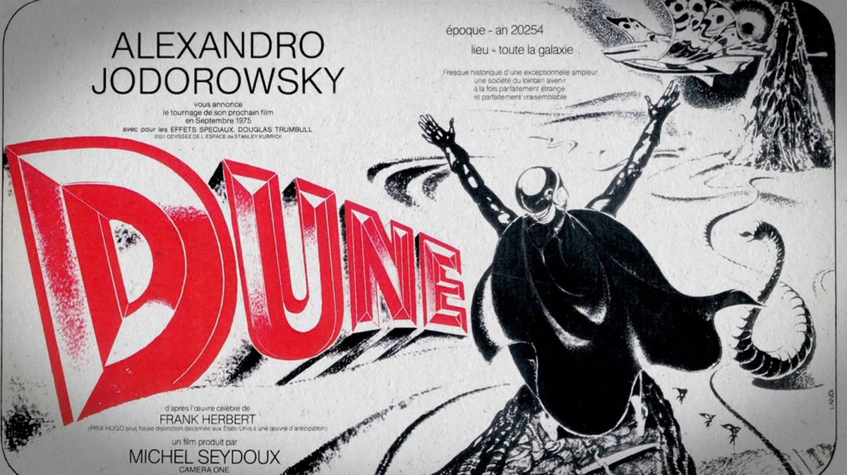 JODOROWSKY'S DUNE                              …The Game-Changer That Never Was