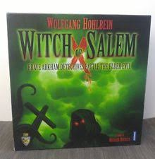 Witch of Salem : Fun for 4 with a great theme [Board Game Review]