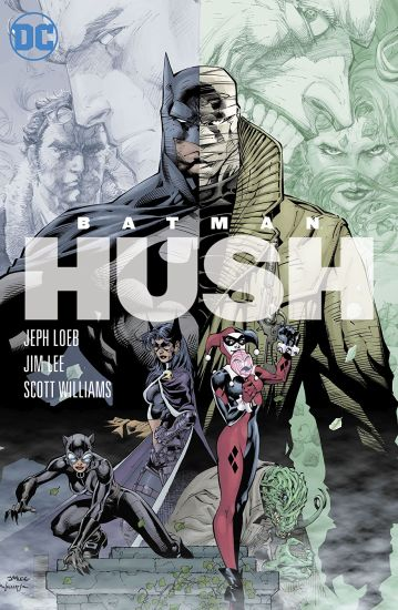 comic cover hush