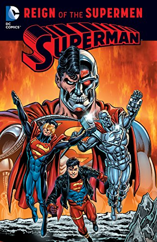 Reing of the Supermen Comic cover