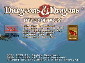 tower of doom opening screen